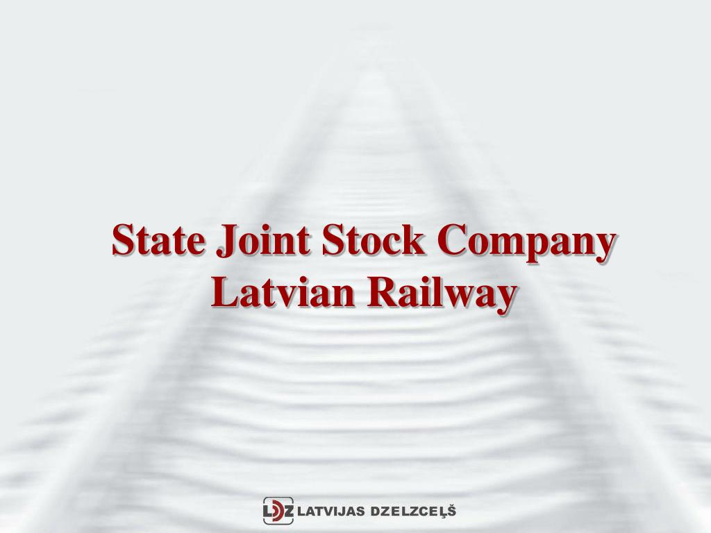 state joint stock company latvian railway l.