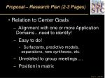 proposal research plan 2 3 pages27