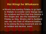 hei kiingi he whakaaro7