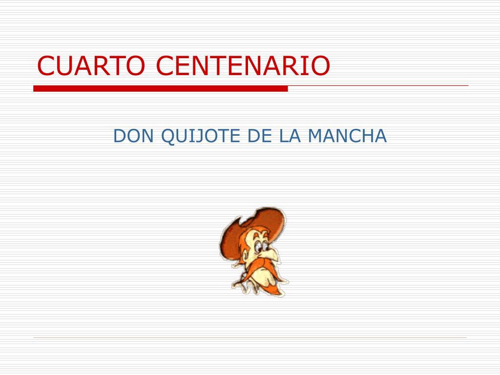 cuarto centenario l.