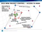 2022 new project control access to nsrs