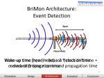 brimon architecture event detection31