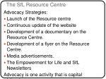 the sfl resource centre
