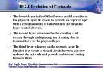 10 2 1 evolution of protocols18