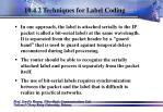 10 4 2 techniques for label coding64
