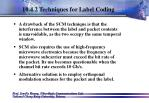 10 4 2 techniques for label coding70