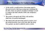 10 4 2 techniques for label coding78