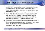 10 5 3 high speed tdm networks