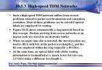 10 5 3 high speed tdm networks108
