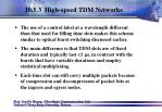 10 5 3 high speed tdm networks111