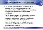 10 6 1 broadcast and select networks