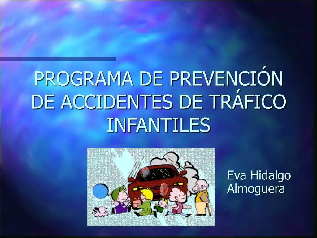 programa de prevenci n de accidentes de tr fico infantiles l.