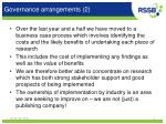 governance arrangements 2