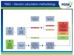 t663 generic calculation methodology