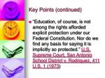 key points continued5