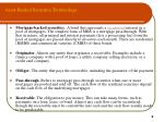 asset backed securities terminology9