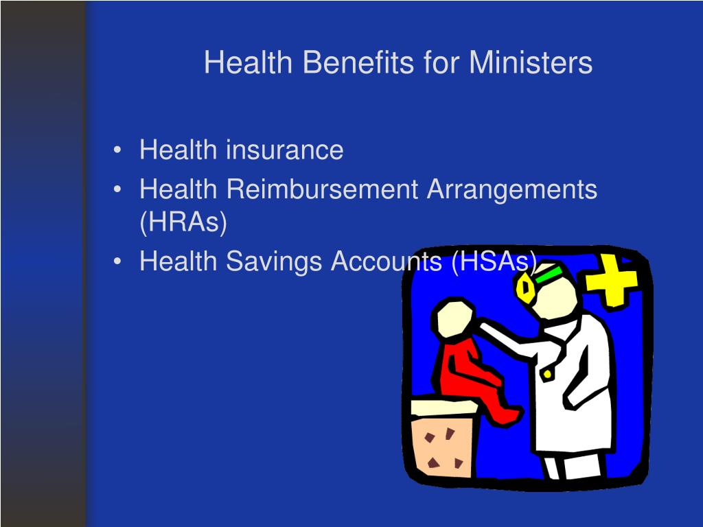 Health Benefits for Ministers