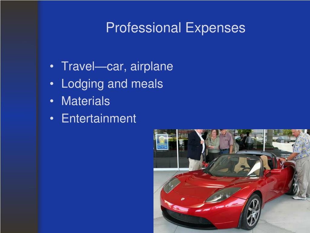 Professional Expenses