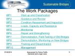 the work packages