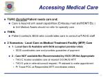 accessing medical care
