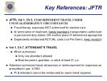 key references jftr