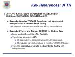 key references jftr12