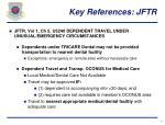 key references jftr12