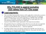 why poland is against excluding 1520 railway from cr tsis scope11