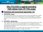 why poland is against excluding 1520 railway from cr tsis scope12