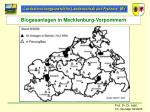 biogasanlagen in mecklenburg vorpommern