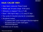 adult calgb 19801