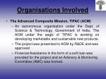 organisations involved6