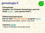 genealogia fi