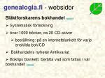 genealogia fi websidor