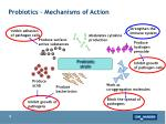 probiotics mechanisms of action