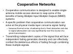 cooperative networks169