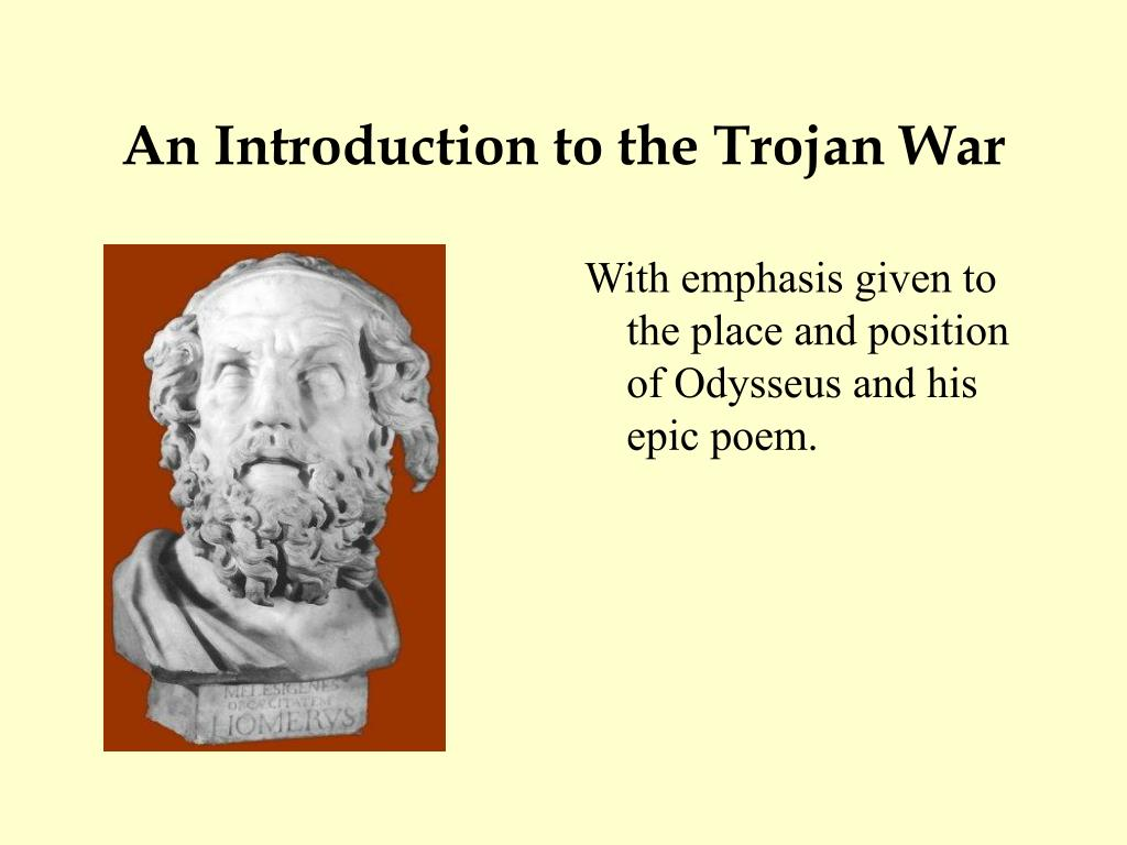 an introduction to the trojan war l.