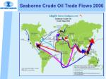 seaborne crude oil trade flows 2006