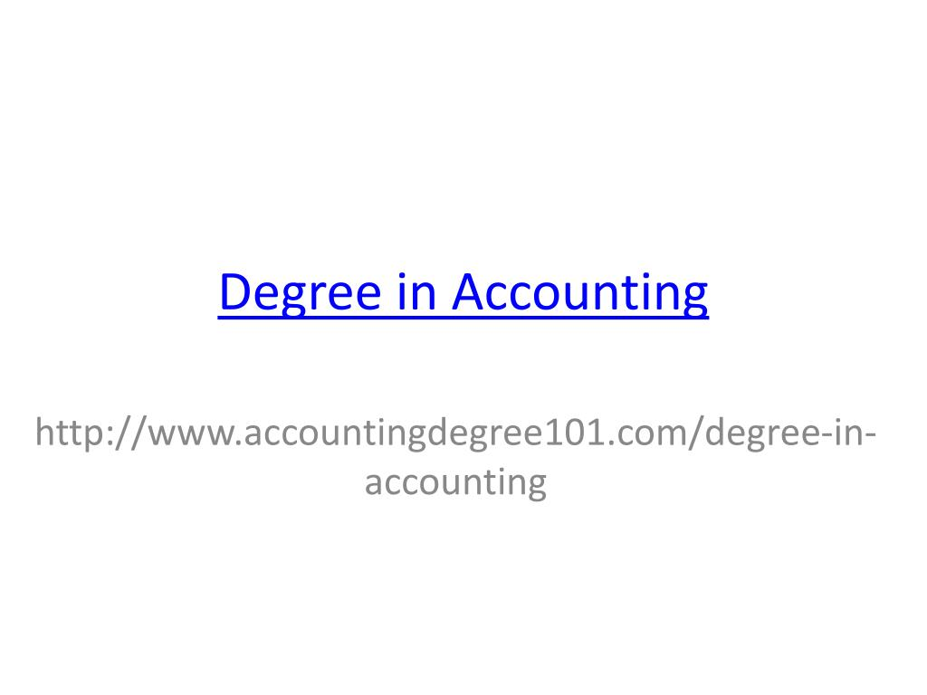 degree in accounting l.