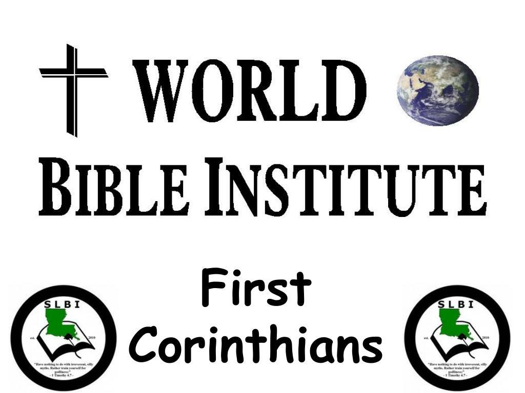 first corinthians l.