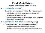 first corinthians solicited questions from corinth 7 1 16 414