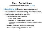 first corinthians solicited questions from corinth 7 1 16 418