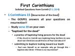 first corinthians solicited questions from corinth 7 1 16 424
