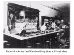 believed to be the first whitehead drug store at 8 th and main