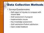 data collection methods14