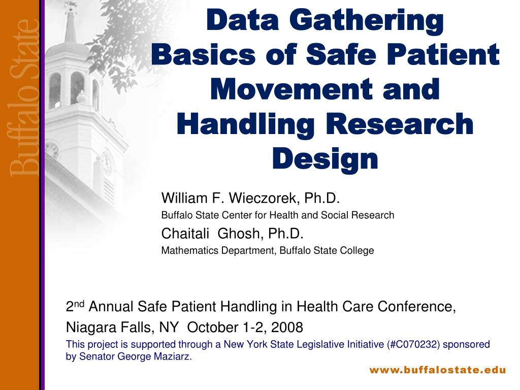 data gathering basics of safe patient movement and handling research design l.