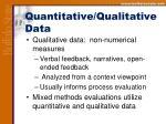 quantitative qualitative data11