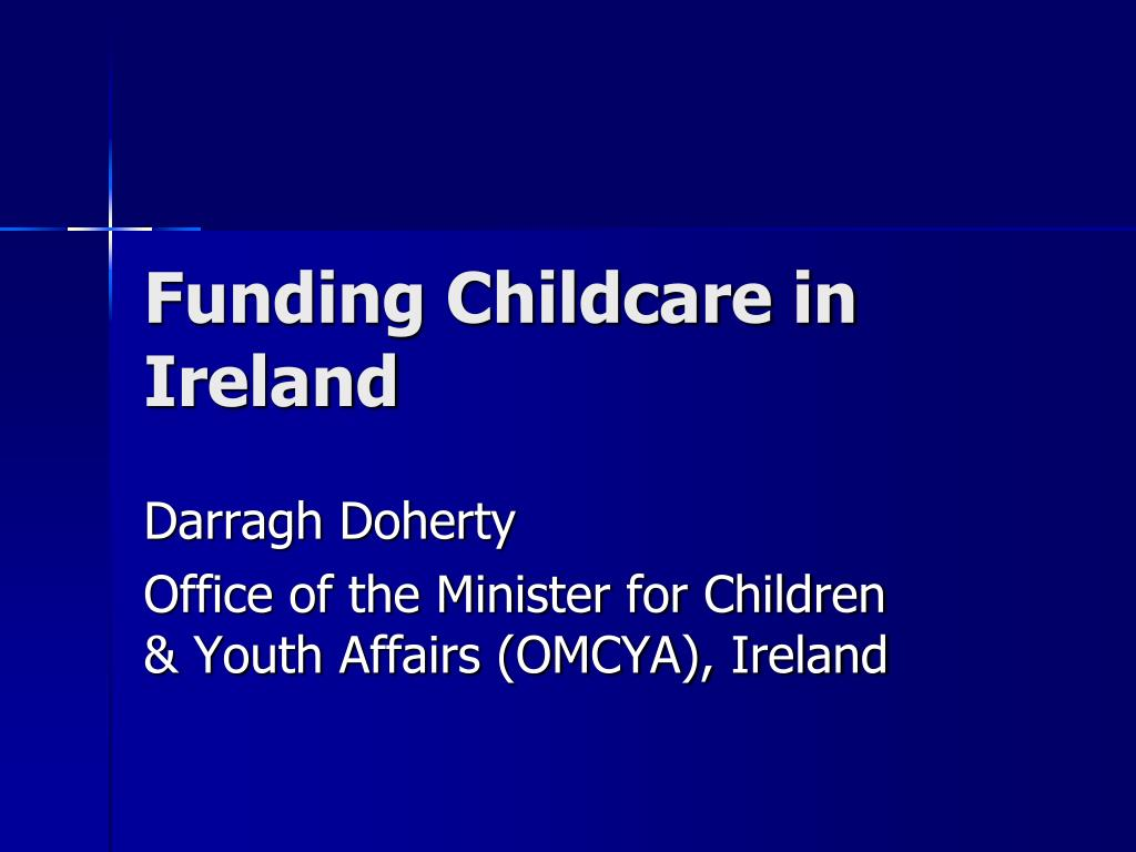 darragh doherty office of the minister for children youth affairs omcya ireland l.