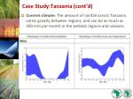 case study tanzania cont d22