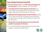 case study tanzania cont d23